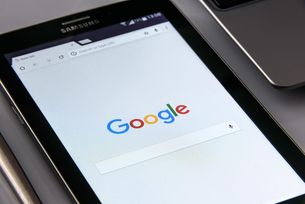 Google search engine (SEO)